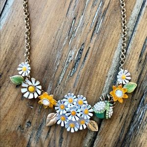 Betsy Johnson Daisy & Lady Bug Necklace